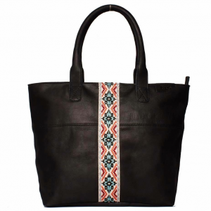 Afrikana Tote Leather Bag