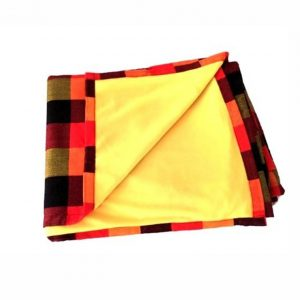 Maasai Shuka with light fleece